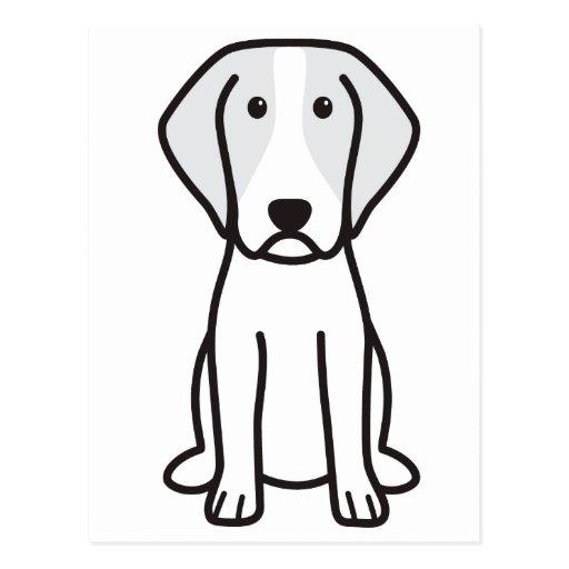 Brittany Dog Cartoon Postcards