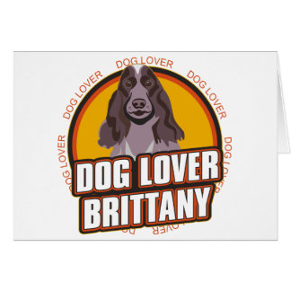 Brittany Dog Lover Cards