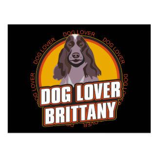 Brittany Dog Lover Postcards