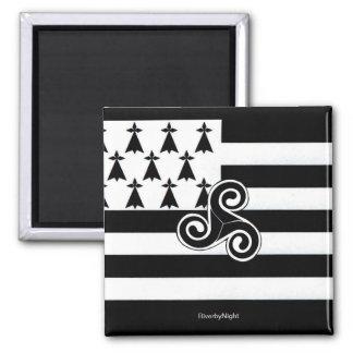 Brittany Flag Breton Magnets