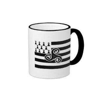 Brittany Flag (Breton) Coffee Mug