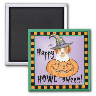 Brittany Halloween Square Magnet