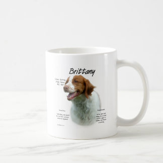 Brittany History Design Coffee Mugs