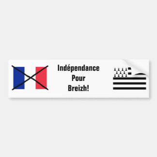 Brittany Independence bumper sticker