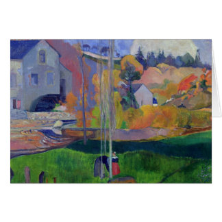 Brittany Landscape: the David Mill, 1894 Card