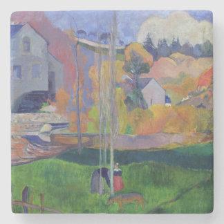 Brittany Landscape: the David Mill, 1894 Stone Coaster