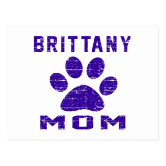 Brittany Mom Gifts Designs Post Card