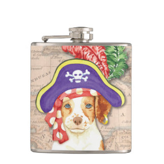 Brittany Pirate Flask