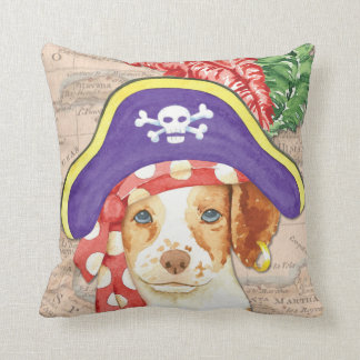 Brittany Pirate Throw Pillow
