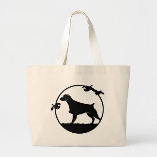 Brittany & Quail Tote Bag