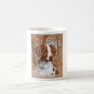 Brittany Spaniel Basic White Mug