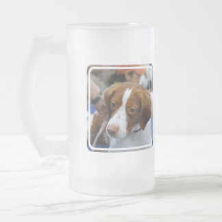 Brittany Spaniel Frosted Mug