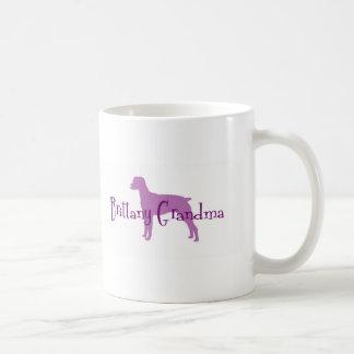 Brittany Spaniel Grandma Coffee Mug