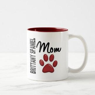 Brittany Spaniel Mom 2 Mugs