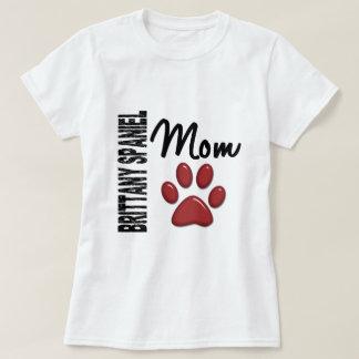 Brittany Spaniel Mom 2 T-Shirt