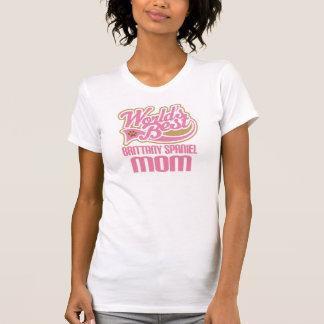 Brittany Spaniel Mom Dog Breed Gift T-Shirt