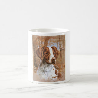 Brittany Spaniel Classic White Coffee Mug