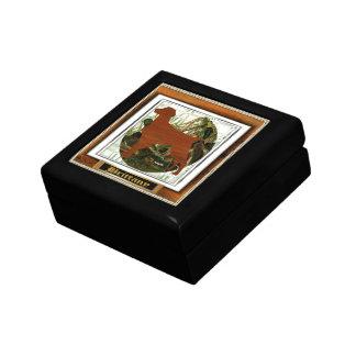Brittany Spaniel Sporting Dog Small Square Gift Box