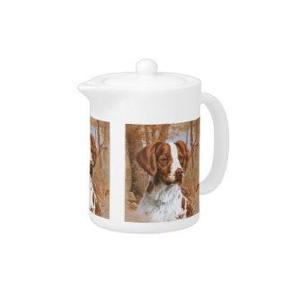 Brittany Spaniel Teapot