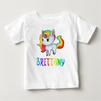 Brittany Unicorn Baby T-Shirt