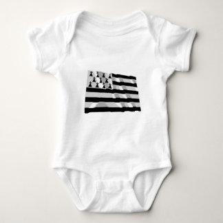 Brittany Waving Flag Baby Bodysuit