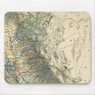 Britton and Rey's Map of California Mouse Mat