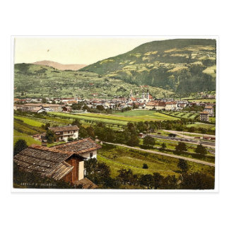 Brixen, II, Tyrol, Austro-Hungary rare Photochrom Postcard