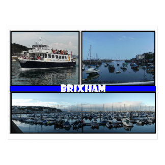 Brixham Devon Postcard