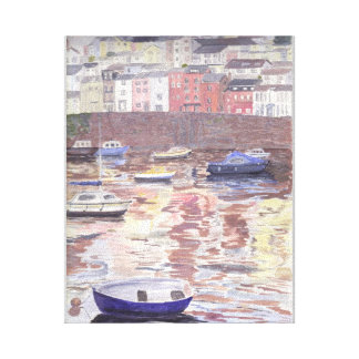 Brixham Harbour Gallery Wrapped Canvas