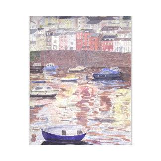 Brixham Harbour Canvas Prints