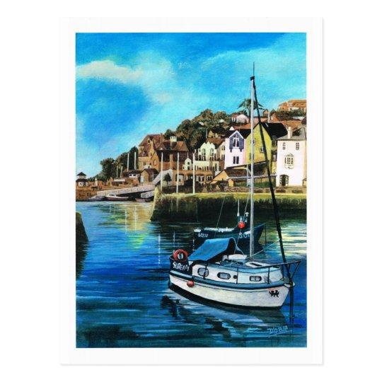 Brixham harbour, South Devon Postcard