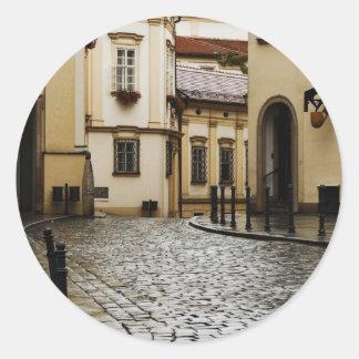 Brno, Czech Republic Classic Round Sticker