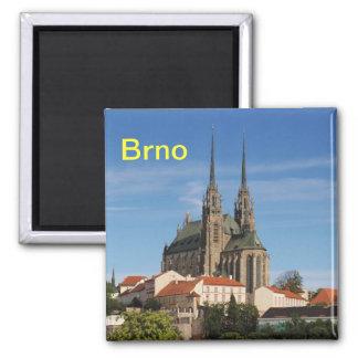 Brno fridge magnet