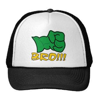 Bro Big Green Fist Trucker Hat