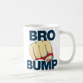 Bro Bump Funny mens Basic White Mug