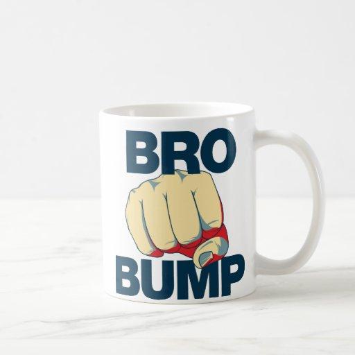 Bro Bump Funny mens Mugs