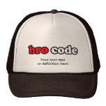 BRO CODE CAP