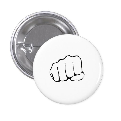 Bro Fist Pinback Buttons