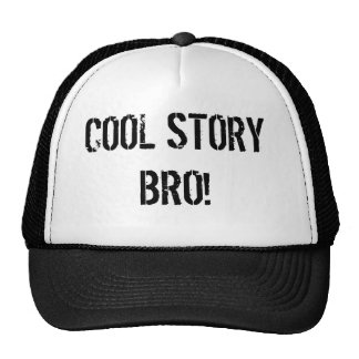 BRO! TRUCKER HATS