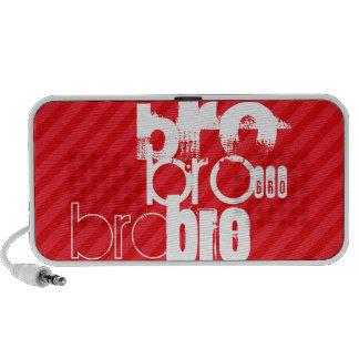 Bro; Scarlet Red Stripes PC Speakers
