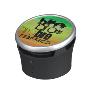 Bro; Vibrant Green, Orange, & Yellow Bluetooth Speaker