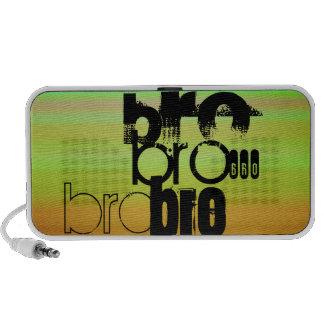 Bro; Vibrant Green, Orange, & Yellow Mini Speaker