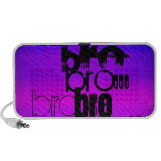 Bro; Vibrant Violet Blue and Magenta iPhone Speaker