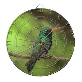 Broadbilled Hummingbird Dart Set Dartboard