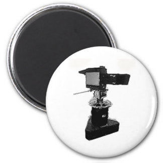 Broadcast TV Camera from 1970 s or 1980 s Refrigerator Magnets