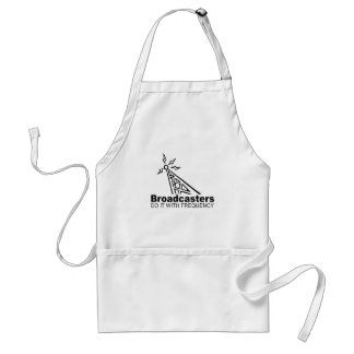 broadcasters do it with frequency aprons
