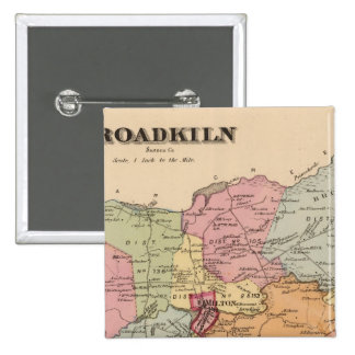 Broadkiln 15 Cm Square Badge