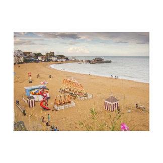 Broadstairs Beach Canvas Print