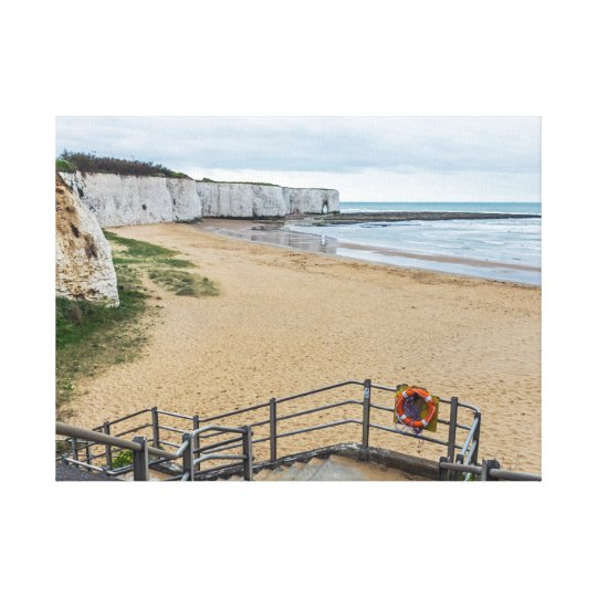 Broadstairs Kingsgate Bay canvas print