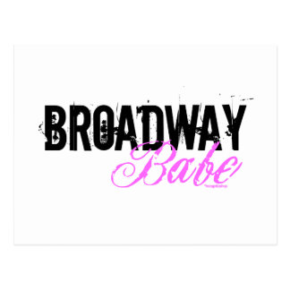 Broadway Babe Post Card